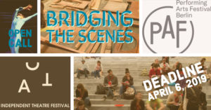 Open Call: Bridging the Scenes #2